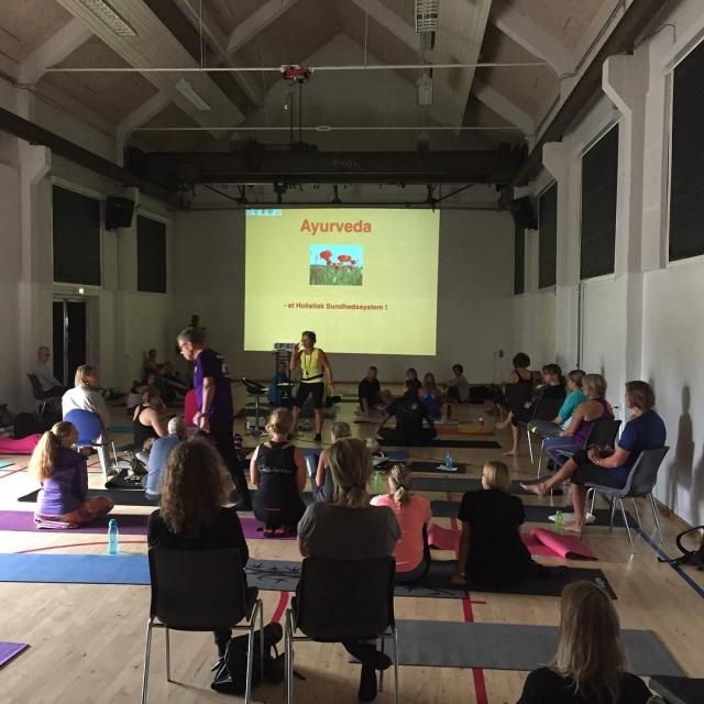 Yogafestival i Remisen Foredrag ved Ilse Kjr Gaardahl