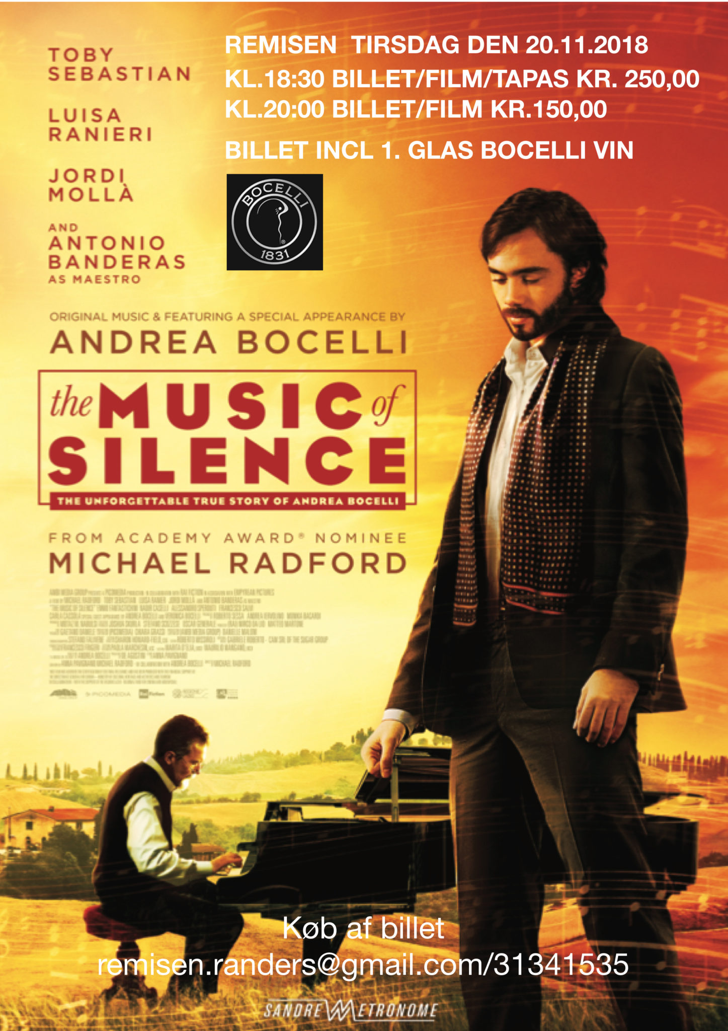 The Music of Silence (Trailer)